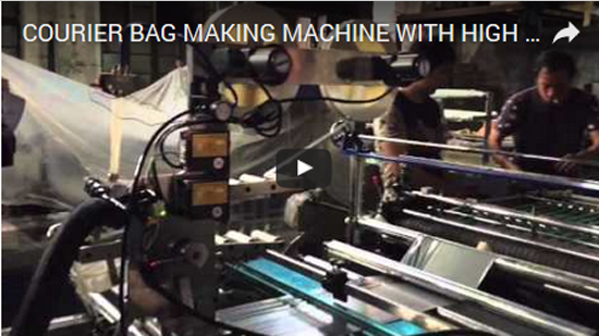 Our Courier Bag Making Machine